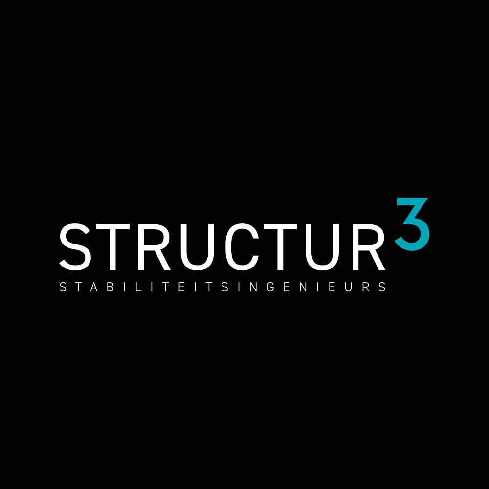 Grafisch ontwerp logo STRUCTUR3